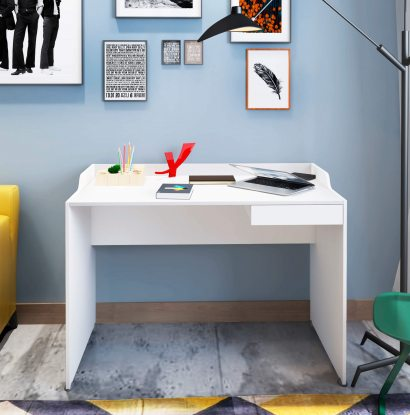 Escrivaninha Slim  - Branco