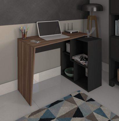 Escrivaninha Urban - Ipê/Preto